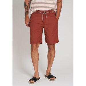 """RECOLUTION Shorts """"Canvas"""" dark summer orange"""