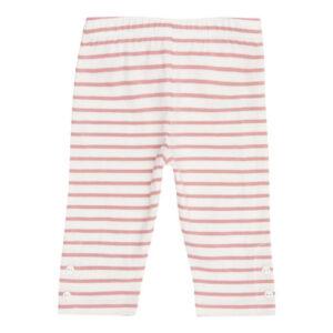 "SENSE ORGANICS Baby Leggings ""Lara"" rose stripes"
