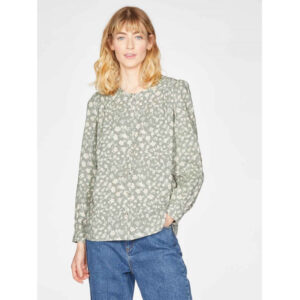"THOUGHT Bluse ""Harper Sleeve"" sage green"