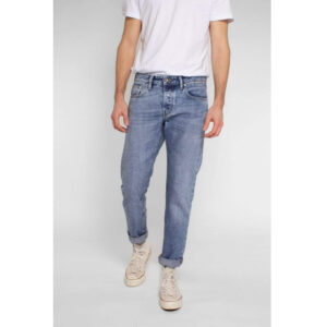 "KUYICHI Jeans ""Jim Tapered"" Broken Blue"