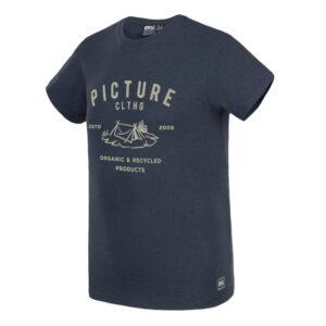 "PICTURE T-Shirt ""Eugene Tee"" dark blue melange"